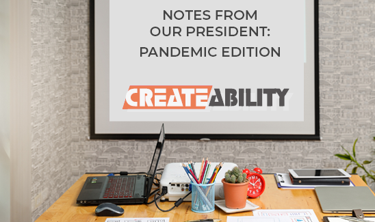 CreateAbility President, Steve Sutter, Talks Gratitude, Pandemic Challenges, and Assistive Technology